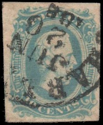 Confederate States of America #11a Used