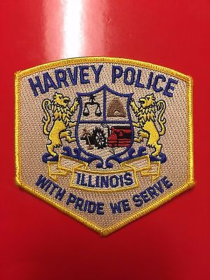 Harvey Illinois  Police  Shoulder Patch