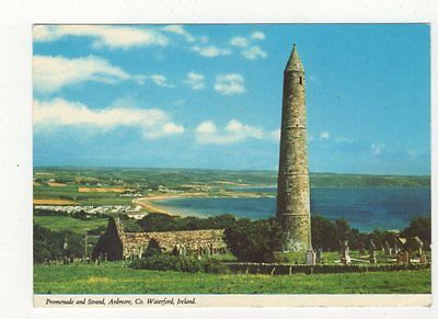 Promenade & Strand Ardmore Co Waterford Ireland 1982 Postcard 710a