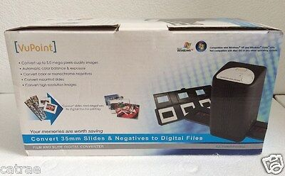 VuPoint FS C1-VP Scanner Convert Slides & Negatives To Files * New In Box * .