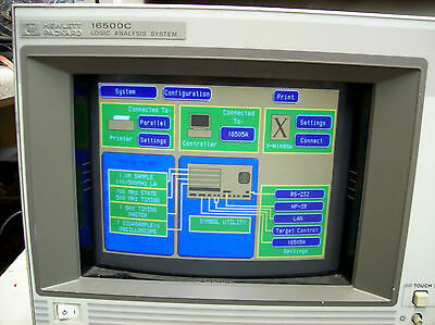 HP 16500C Logic Analysis System w/ 15660A 16505A 16515A 16532A & 16555A Tested