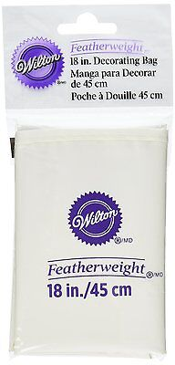 """Wilton Featherweight Decorating Bag 18"""" Polyester Reusable Strong And Flexible"""