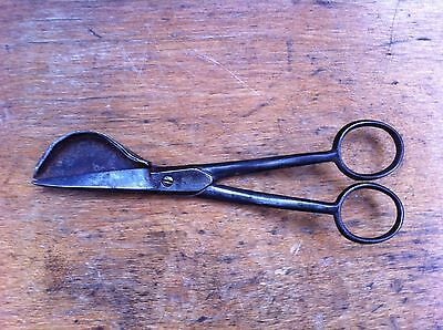 ANTIQUE  BOOTHS STEEL CANDLE WICK TRIMMERS 6.25 inches