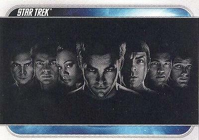 Star Trek (2009 Movie) Common SET of 81 cards w/wrapper Rittenhouse Archives!