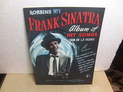 Robbins No.1 Frank Sinatra Album of Hit Songs from his Records 1950s Song Book