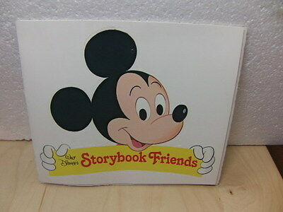 Walt Disney's Storybook Friends – unused / un-pressed-out card Mobile 1970s