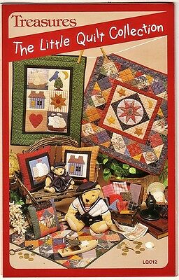 NEW Treasures The Little Quilt Collection LQC12 4 Quilt & 2 Pillow Patterns 1994