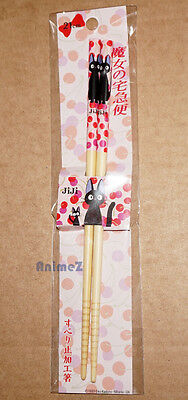 Official Kiki's Delivery Service - JiJi Cherry Bamboo Chopsticks Studio Ghibli