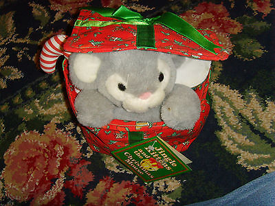 Jingle Kittens and the Christmas Mouse toy Mouse Decorative in package GUC cute