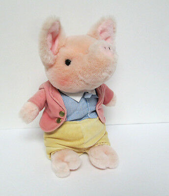 "Pigling Bland Frederick Warne 10"" Plush Doll Eden Peter Rabbit Pig"