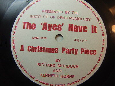 Richard Murdoch and Kenneth Horne – The Ayes Have It 1966 Flexi Disc Lyntone