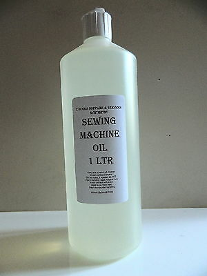 1Ltr MILLERS OILS  INDUSTRIAL OR DOMESTIC SEWING MACHINE OIL PREMIUM GRADE