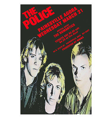 The Police 1979 Cleveland Concert Poster