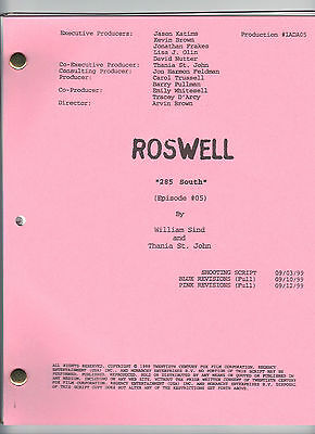 """ROSWELL show script """"285 South"""""""