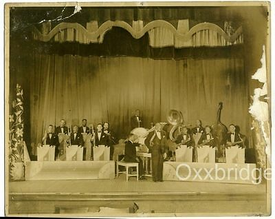 APOLLO CLUB HARLEM PHOTO 1939 BUBBY JOHNSON ORCHESTRA Billy Mackel ORIGINAL Jazz