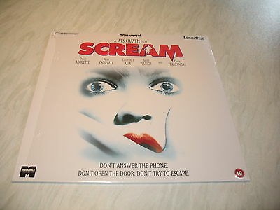 Laserdisc - Scream (mint disc PAL) Wes Craven film