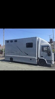 horsebox Ford Iveco. Lovely Wagon! 2001 7.5 Ton.