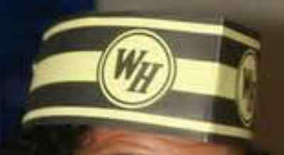 Ten (10) WAFFLE HOUSE Grill Operators Adjustable Paper Hat Brand New From Box