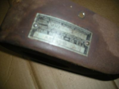Vintage Briggs Stratton Model WM-WMB  Fan Cover with Sears Roebuck Brass Tag.