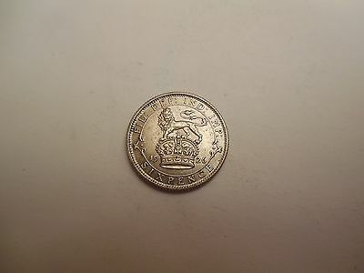 1926 George V Sixpence Unc Uncirculated High Grade