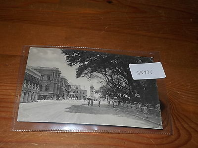 Old CEYLON  postcard our ref #55933 QUEEN STREET COLOMBO