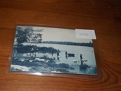 Old CEYLON  postcard our ref #55944 THE LAKE COLOMBO