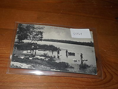 Old CEYLON  postcard our ref #55949 THE LAKE COLOMBO 1910