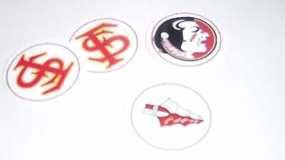 Pre Cut One Inch Bottle Cap Images Florida State Free Ship