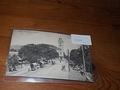 Old CEYLON  postcard our ref #55977 QUEEN STREET FORT COLOMBO