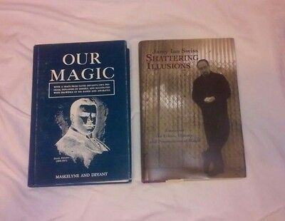 Our Magic & Jamy Ian Swiss Book Lot - David Devant Maskelyne Theory
