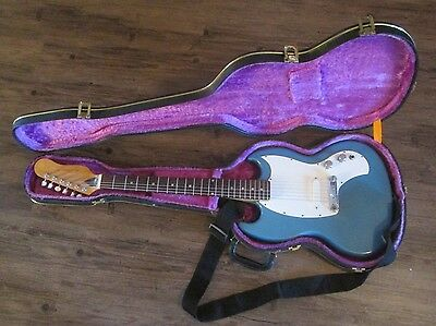 Vintage Kalamazoo USA by Gibson Electric Guitar with Hardcase