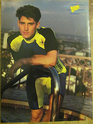 New Kids on the Block, Jonathan Knight, Debbie Gibson, Double Full Page Pinup