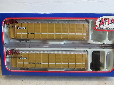 ~ Atlas #50000004 ~ Ttx Articulated Auto Carrier #880185 ~ N Scale