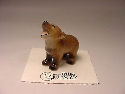 "Little Critterz - LC102 ""Howler"" Coyote Cub"