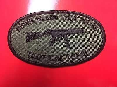 Rhode Island State Police Tactical Team Patch