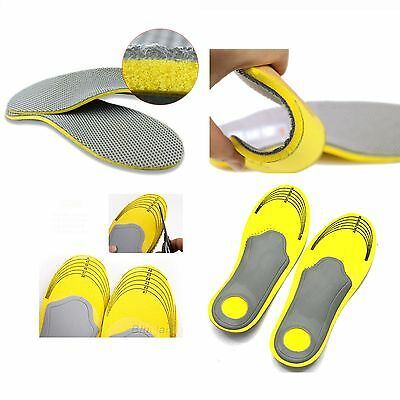 1 Pair High Arch Support Pad Premium Orthotic Insoles Shoes For Men Women Insert