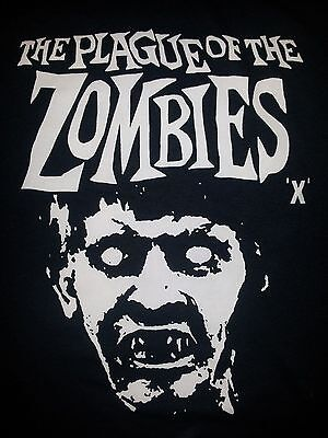 Plague Of The Zombies Hammer Cult Film Movie Black Canvas Back Patch