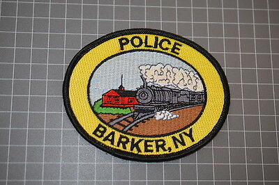 Barker New York Police Department Patch (T3)