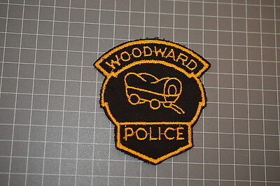 Old Woodward Oaklahoma Police Department Patch (T3)