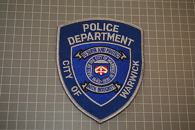 City Of Warwick Rhode Island Police Department Patch (T3)