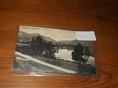 Old CEYLON  postcard our ref #56078 NUWARA ELIYA LAKE