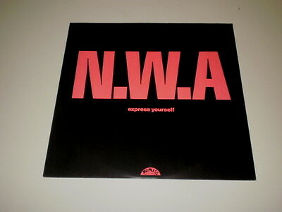 """N.w.a. - Express Yourself - 12"""" Maxi Single Ruthless Records 1989 - Nm-/vg++"""