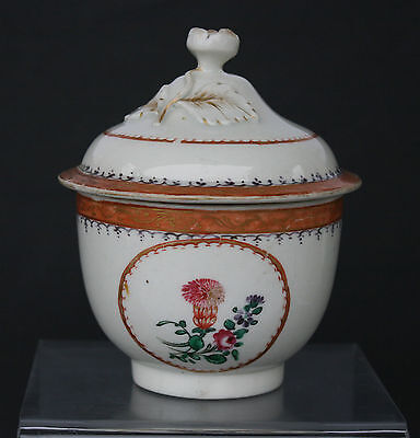 Rare Antique English Soft Paste Porcelain Replacement Chinese Export Worcester