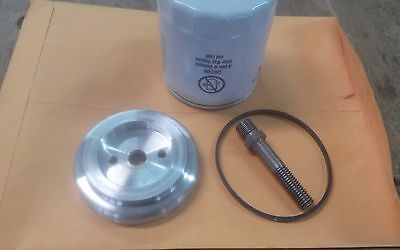 Spin on oil filter adapter kit to fit farmall a b c h m