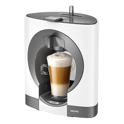 Krups KP110140 Dolce Gusto Coffee Machine with 0.8L Capacity and 1500W in White