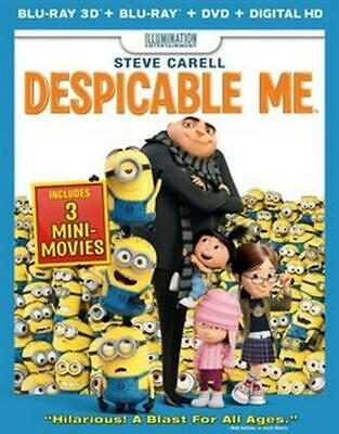 Despicable Me 3d (bd/dvd Combo) - Blu-Ray Region 1 Free Shipping!