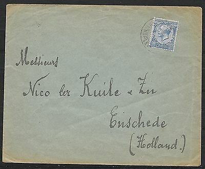 British Levant  covers 1919 cover Constantinople to Enschede