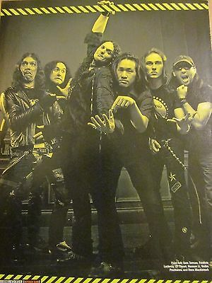 DragonForce, Full Page Pinup