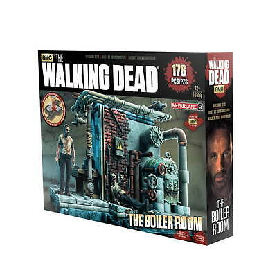 WALKING DEAD Building Set BOILER ROOM 176 Teile NEU+OVP Heizungsraum