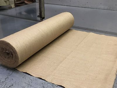 LUXURY 15oz FINE WOVEN NATURAL JUTE BURLAP HESSIAN CRAFT SACK UPHOLSTERY 36""